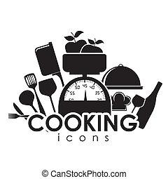 icone, cottura