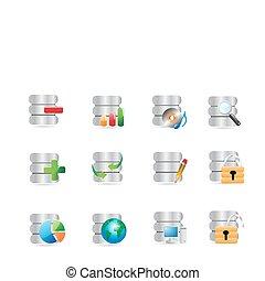 icone, database