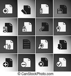 icone, documenti
