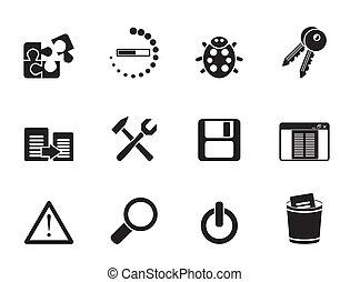 icone, domanda, programmazione