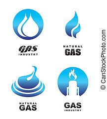 icone, gas