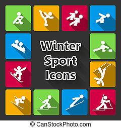 iconset, sport inverno
