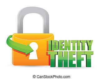 identità, serratura, assicurato, furto, oro