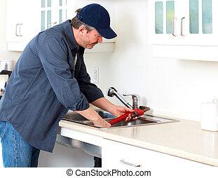 idraulico, worker.