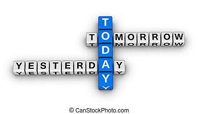 ieri, oggi, domani