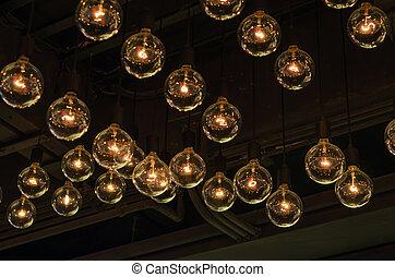 illuminazione, decorazione, bello