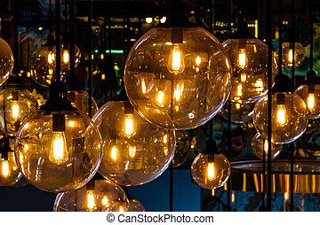 illuminazione, decorazione