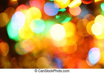 illuminazione, vacanza, colorito
