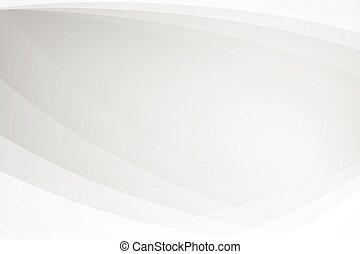 illustrazione, astratto, softlight, fondo, curva, struttura, grigio, vettore, bianco