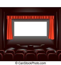 illustrazione, cinema