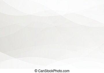 illustrazione, nero, astratto, fondo, curva, softlight, grigio, vettore, bianco