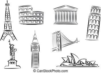 illustrazioni, limiti, vettore