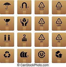 imballaggio, 01, icone