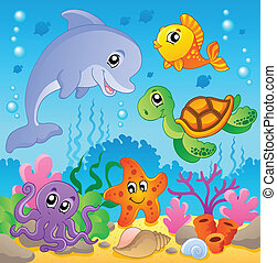 immagine, 2, tema, sottomarino