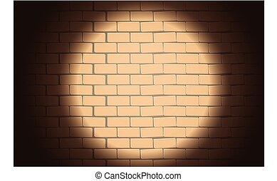 immagine, brickwall