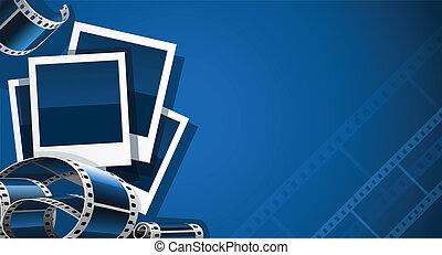 immagine, set, video, film, foto