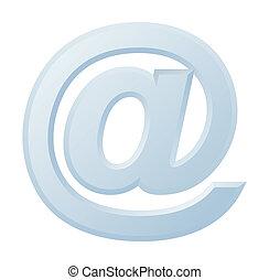 @, immagine, simbolo, internet