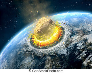 impatto, asteroide
