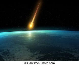 impatto, meteora