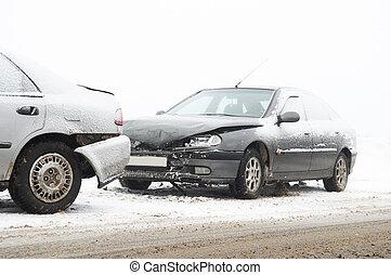 incidente automobile, abbattersi