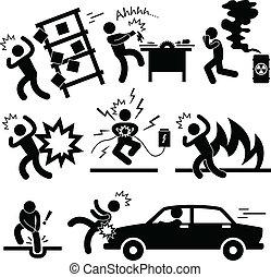 incidente, esplosione, rischio, pericolo