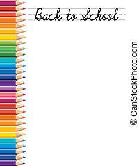 indietro, scuola