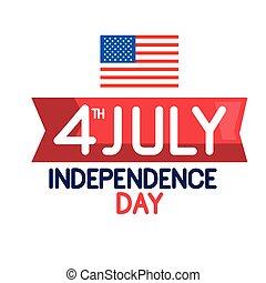 indipendenza, bandiera, giorno
