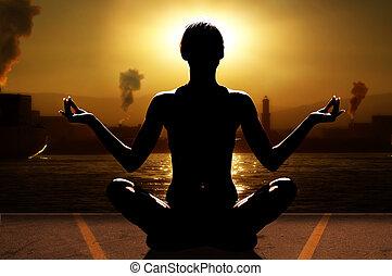 industria, yoga