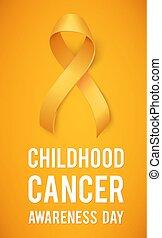 infanzia, cancro, giorno