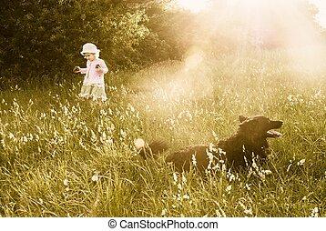infanzia, fare un sogno