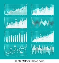 infographic, grafici, elementi, tabelle, affari