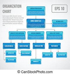 infographic, organizzativo