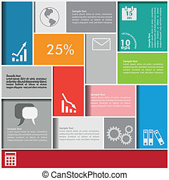 infographic, squadre, fondo