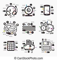 infographic, tecnologia