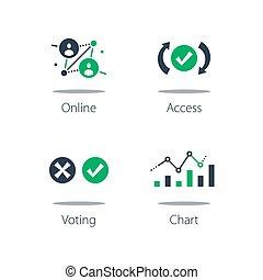 informazioni, analisi, analisi, elaborazione, sistema, votazione, dati, raccolta, linea, personale