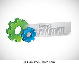 informazioni, industriale, importante, spagnolo