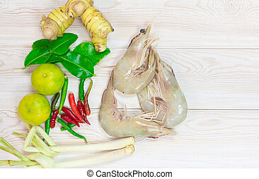 ingredienti, cibo, asiatico