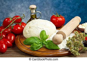 ingredienti, pizza