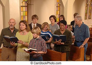inni, canto, chiesa