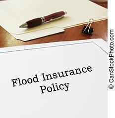 inondazione, polizza assicurazione