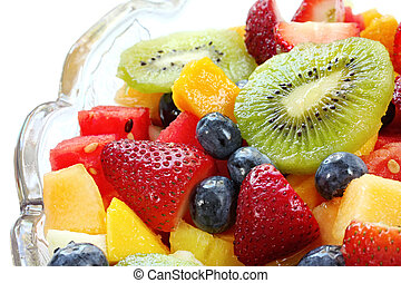 insalata, frutta
