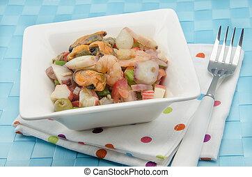 insalata frutti mare
