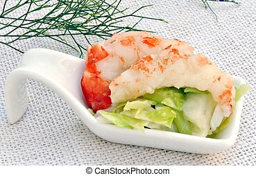 insalata, gamberetto