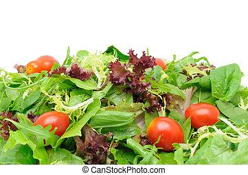 insalata verde, fondo