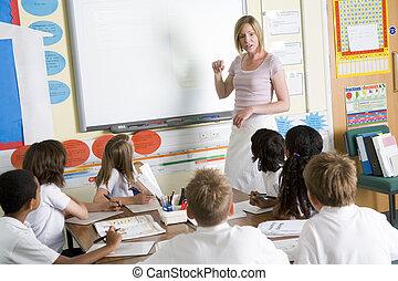 insegnamento, classe scolastica, minore, insegnante