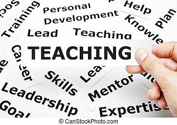 insegnamento, concetto