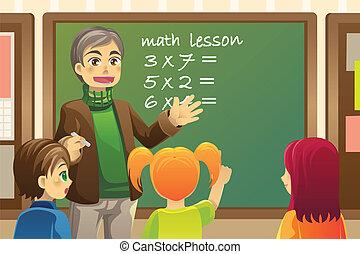insegnante, aula
