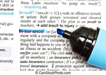 """insurance"", parola"