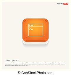 interfaccia, domanda, finestra, icona