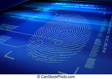 interfaccia, identificazione, sistema